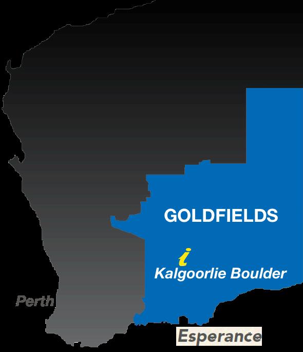 Australia Map Kalgoorlie.Welcome Kalgoorlie Boulder Tours Accommodation Information